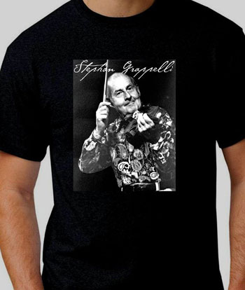 Stephane Grapelli T-Shirt from Keith Watling